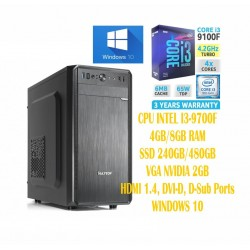 Computer Intel Core I3-9100 Quad core