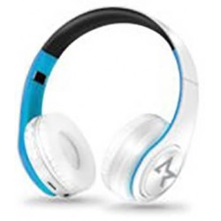 CUFFIE All Star Bluetooth Wireless 4.0 ASH-660KX Bianco-Azzurro