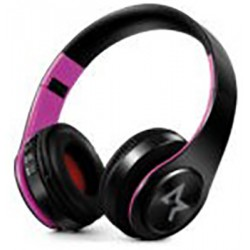 CUFFIE All Star Bluetooth Wireless 4.0 ASH-660KX Nero-Rosa