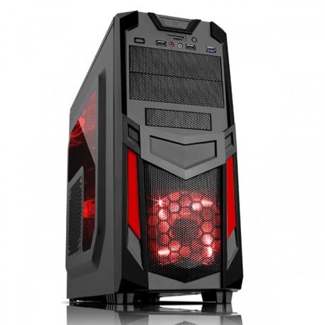 CASE ITEK INVADER R03 ATX Gaming USB3 NO-PSU