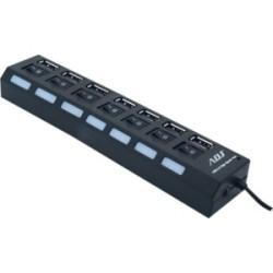 Hub USB- Esterno - 8 Total USB Port 2.0