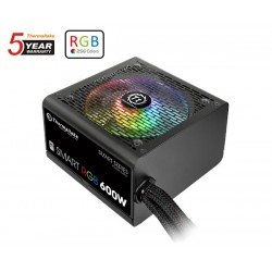 ALIMENTATORE ATX Thermaltake Smart RGB 600W 80 PLUS