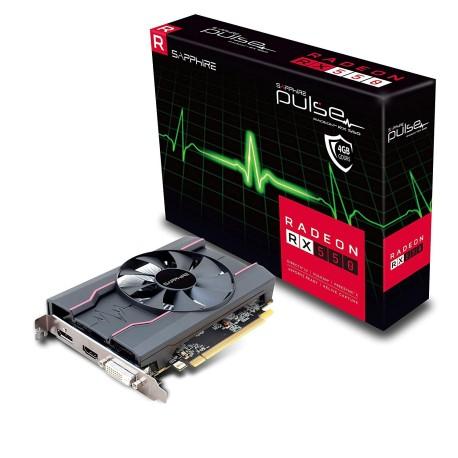 Scheda video RADEON RX550 PULSE 4 GB