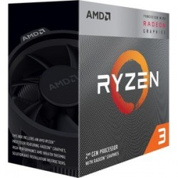 CPU AMD Ryzen 3 3200G Quad core (4 Core) 3,60 GHz