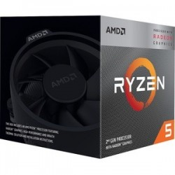 CPU AMD Ryzen 5 3400G Quad core (4 Core) 3,70 GHz
